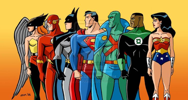 Justice League Animated | Justice League - The Animated Series by ~Az-I-Am on deviantART