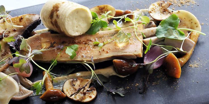 Tom Aikens dish is a celebration of the complimentary flavours of rich foie gras and sweet Sauternes wine