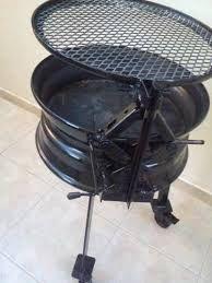 Resultado de imagen para mesa hecha con rines