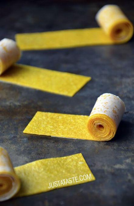 Mango Fruit Roll-Ups   19 Mango Recipes That'll Make Your Summer Juicy AF
