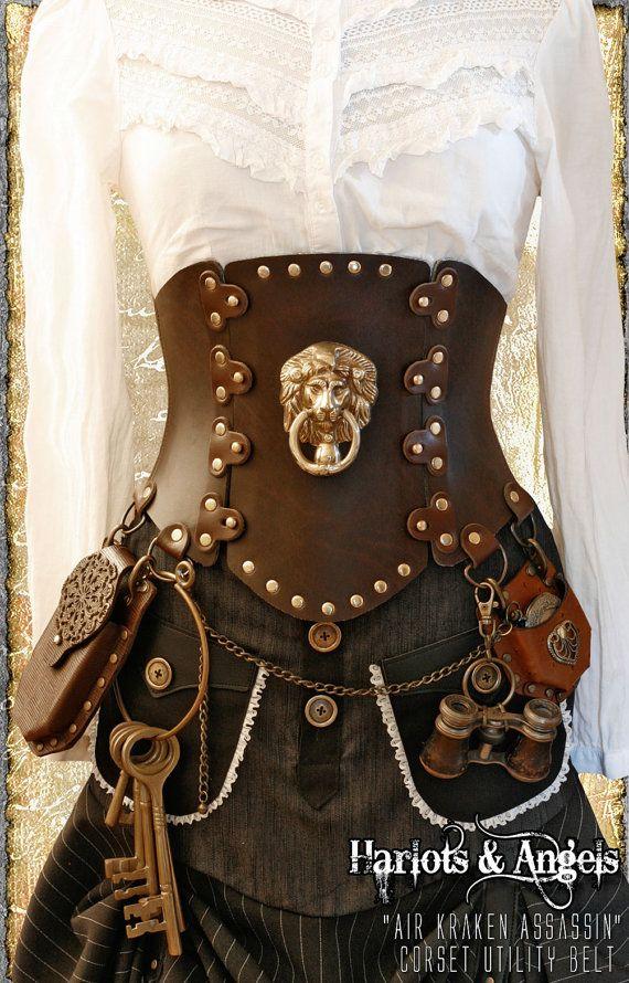 Steampunk corset