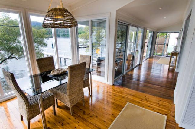 MACKYS . Hawkesbury River . ARRIVE, a Central Coast Waterfront House | Stayz