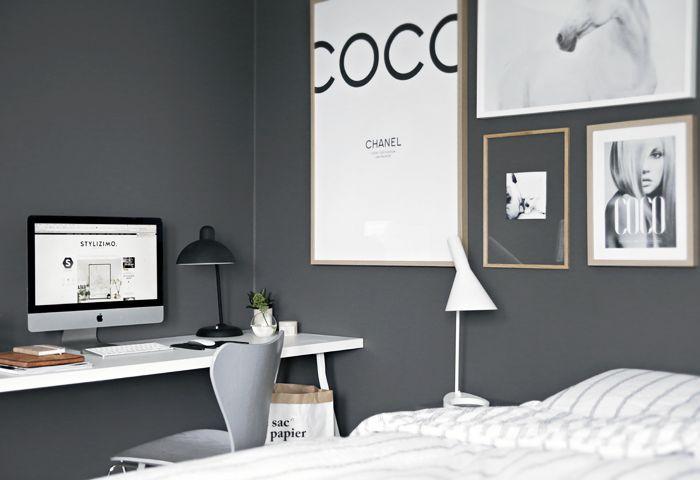 Office in the bedroom | Stylizimo blog | Bloglovin'