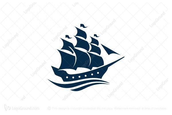 Logo for sale: Old Ship Logo