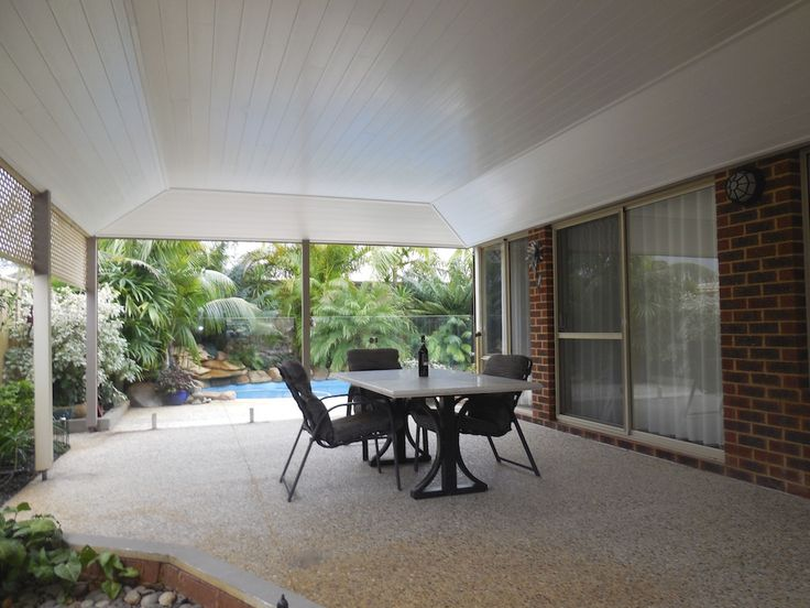 Create an extra room with a Glosswood lined patio by Castlegate Home Improvements Perth