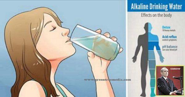 Καταρρίπτεται: Συνταξιούχος πρόεδρος των φαρμακοποιών αποκαλύπτει: «Το αλκαλικό νερό μπορεί να σκοτώσει τον καρκίνο!» – Πώς να το φτιάξετε!