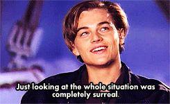 Interview Titanic - Leonardo Dicaprio
