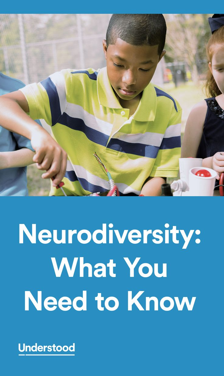 "Neurodiversity is a concept that's been around for a while. In a nutshell, it means that brain differences are just that: differences. So conditions like ADHD and autism aren't ""abnormal."" They're simply variations of the human brain."