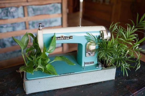 Sew you want an indoor garden ? | Recyclart
