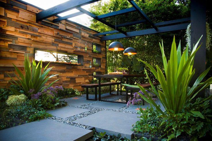 Petit jardin clos – designs appropriés pour l'espace restreint More