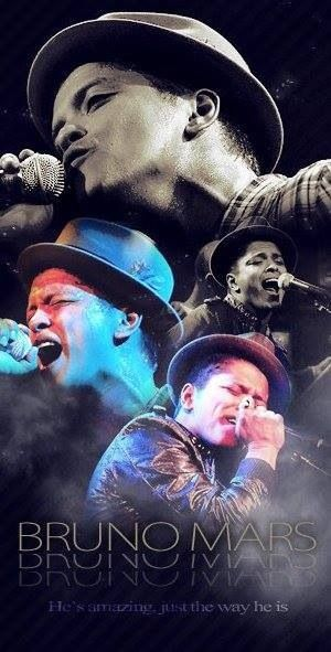 Bruno Mars.. The man who puts his heart and soul into everything he does.. we love you Bru :3