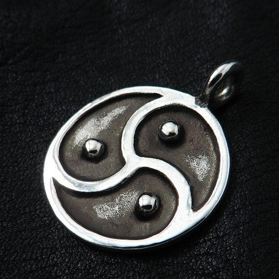 Silver BDSM pendant