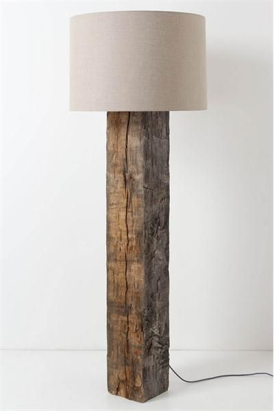 Country Floor Lamp from Anthropologie, Model: Brown