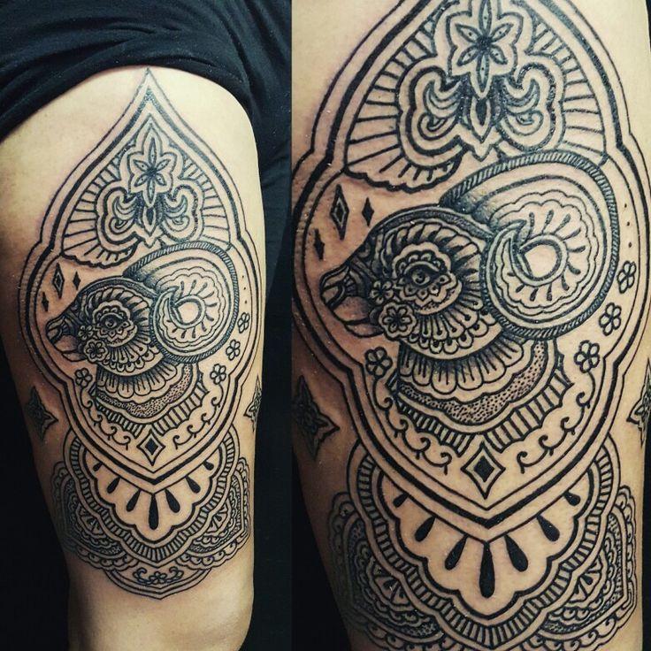 Cabra mehndi tribal black negro tattoo tatuaje aletat2