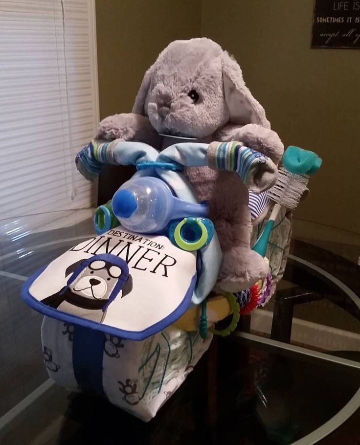 Motorcycle Diaper Cake, Diaper Cake, Unique Diaper Cake, Baby Shower Gifts, Baby Boy Motorcycle Diaper Cake by KimsGiftsAndCrafts on Etsy https://www.etsy.com/listing/465721811/motorcycle-diaper-cake-diaper-cake