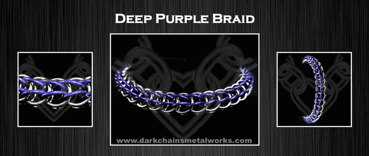 Deep Purple Braid