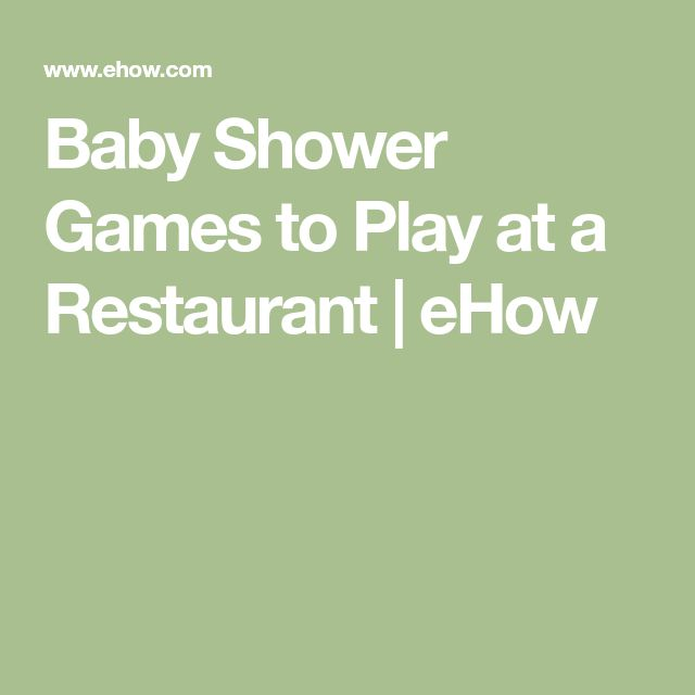 Best 25+ Baby shower at restaurant ideas on Pinterest ...