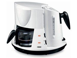 2-in-1 Coffee Maker and Electric Kettle by Princess at Cooking.com