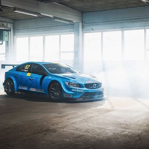 This weekend Volvo takes on the @FIA_WTCC FIA World #TouringCar Championship with two #Volvo S60 #Polestar TC1 race cars by volvocarusa