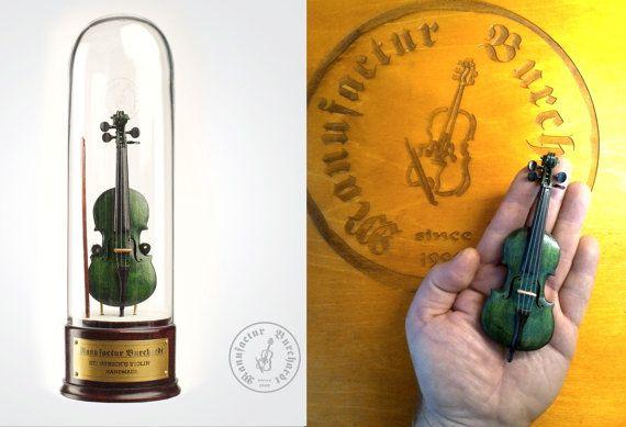 Handmade miniature instrument  St. Patricks by ManufacturBurchardt
