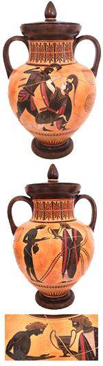 Fico falando, durante as aulas, sobre cerâmica grega, mas acho que vôcês nunca viram uma… Segue abaixo três vasos para vocês terem uma idéia de como era a cerâmica feita na Grécia Antiga. Vas…