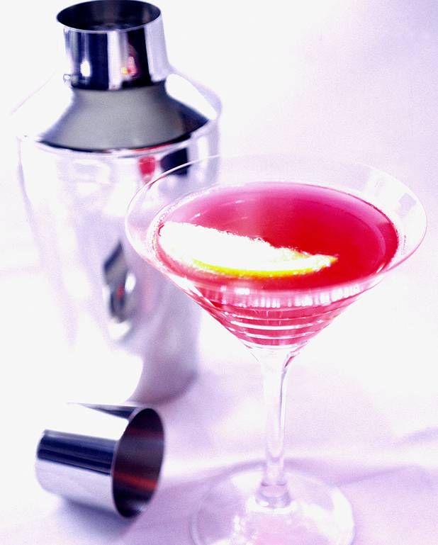 Cocktail au Martini rouge et tonic pour 1 personne - Recettes Elle à Table
