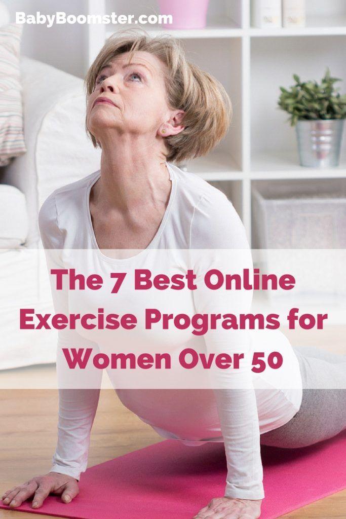 Die 7 besten Online-Trainingsprogramme für Frauen über 50, #besten #die #DietTipsforwomenove…