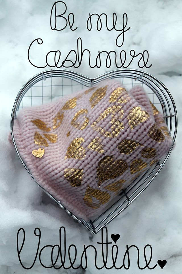Happy Valentine's day to all cashmere lovers <3
