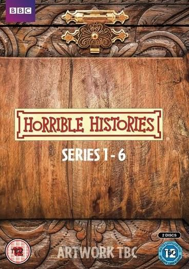 """Horrible Histories: Series 1-6 [Region 2] The creators of Horrible Histories know that grossness and jokes about bodily functions work for kids, and have used them to great effect in a show that combines music, comedy, and """"the horrible bits of history"""".  Based on the books by Terry Deary, what started as children's edutainment grew into a ratings winner with a cult adult following, picking up many awards along the way."""