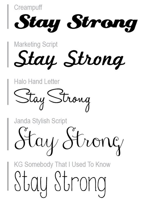 stay strong tattoo font - Halo Font