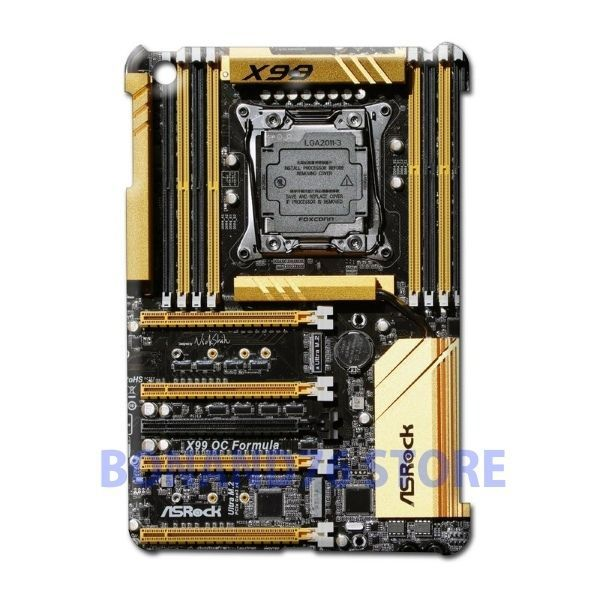 Ipad 2 / Ipad Mini 2 Back Case X99 Gold Customize Design Gaming Board #Generic