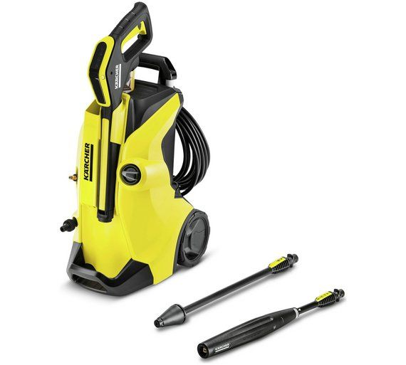 Buy Karcher K4 Full Control Pressure Washer - 1800W at Argos.co.uk - Your Online Shop for Pressure washers and accessories, Lawnmowers and garden power tools, Home and garden.
