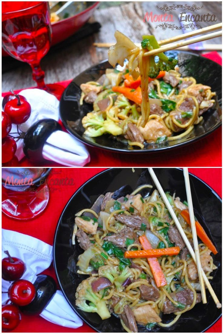 Yaksoba – Macarrão frito com legumes e carnes temperados com molho de shoyo. Yaksoba, é um prato de origem chinesa, muito consumido no Japão que acabou caindo no agrado do mundo inteiro. No …