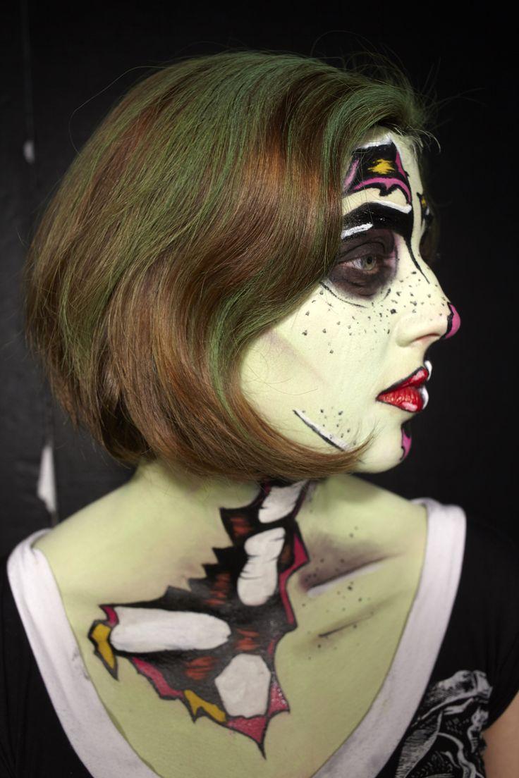 zombie pop art exam