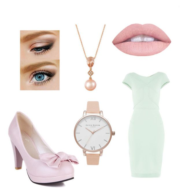 """Pastel"" by tina-80 on Polyvore featuring Roland Mouret, LE VIAN and Olivia Burton"