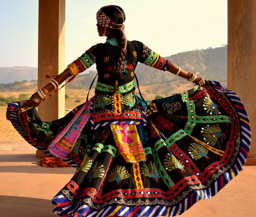 Meet Rakhi, one of the very special Kalbelia dancing girls during the annual Pushkar Mela, Rajasthan, India - Carlo Roberto
