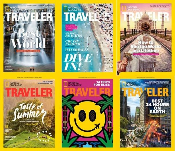 National Geographic Traveler USA - 2016 Full Year Issues Collection