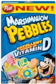 Post Marshmallow Pebbles Cereal