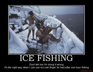 9 best images about Ice Fishing The HardWay on Pinterest ...