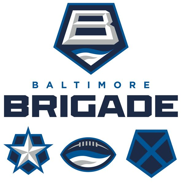 The Arena Football League introduces their newest team, the Baltimore Brigade