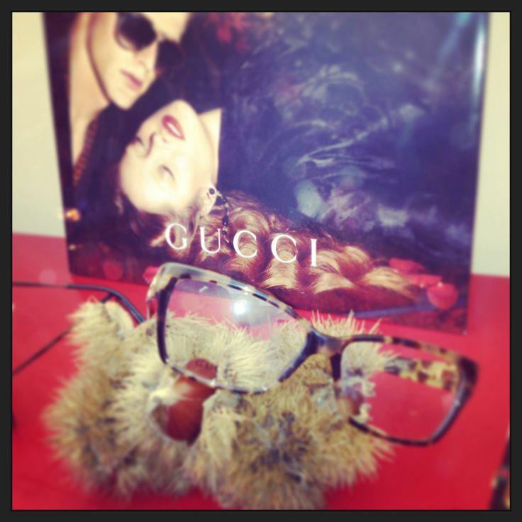 Gucci occhiali da vista per l'autunno inverno 2014