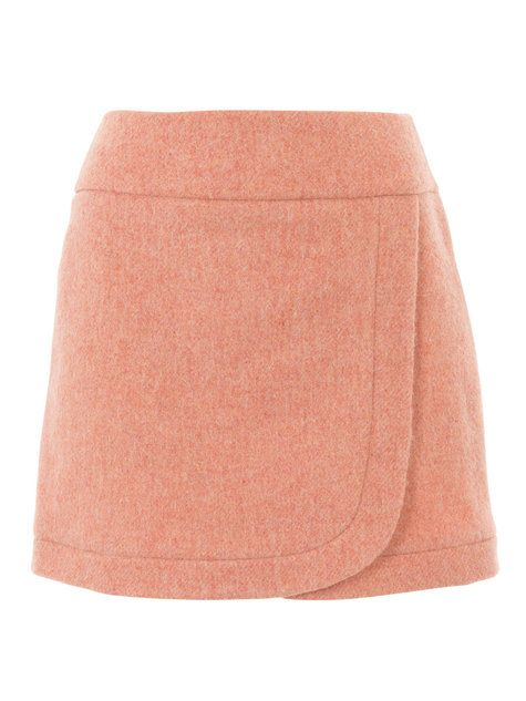 Burda Style Mini Wrap Skirt 09/2016 #106