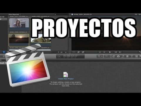 Final Cut Pro X - #2: Proyectos - YouTube