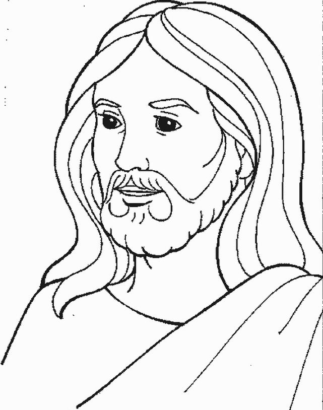 God Jesus Coloring Pages Free http://procoloring.com/god ...