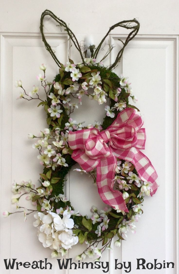 17 Best Images About Easter Wreaths On Pinterest Pink