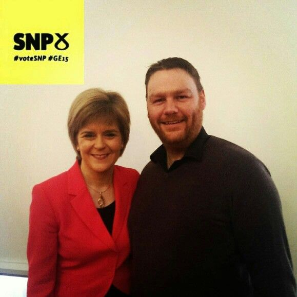 Met with FM Nicola Sturgeon at SNP candidates conference