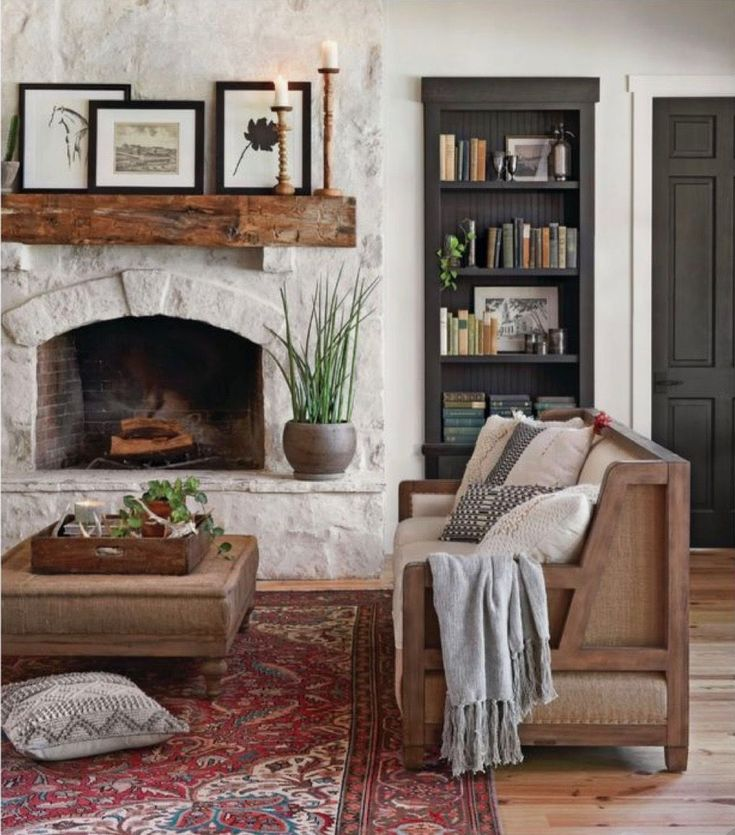 10 Extraordinary Ideas of Living Room with Fireplace