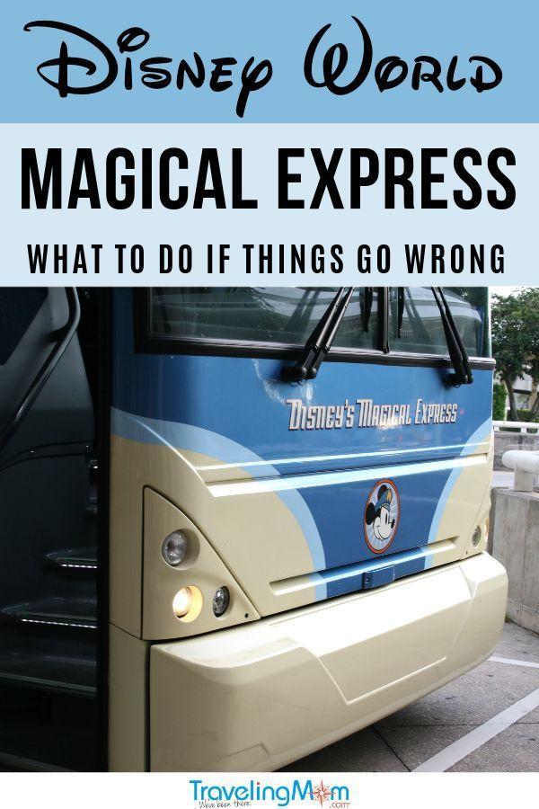Disney World Transportation Walt Disney World Magical Express Bus And Luggage S Disney Magical Express Disney World Transportation Disney World Tips And Tricks
