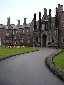 College of Ripon & York St Johns in York, England where I did a semester studying abroad.