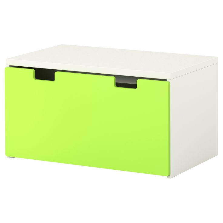 "STUVA Storage bench - white/green, 35 3/8x19 5/8x19 5/8 "" - IKEA"